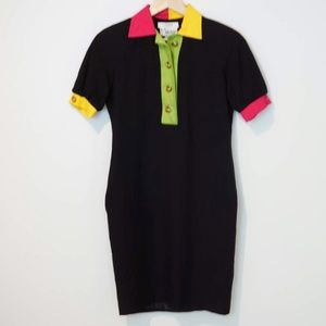 VTG 80s Neon Shift Dress